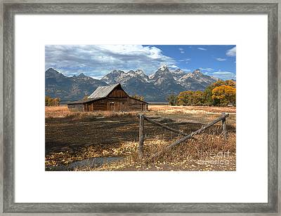 Withstanding The Test Of Time Framed Print by Sandra Bronstein