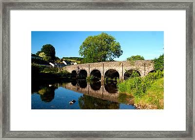 Withypool Bridge Framed Print by Rob Hawkins