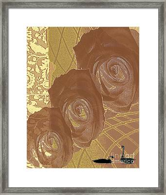 Witness Framed Print by Pederbeck Arte Gruppe
