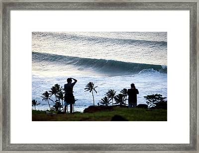 Witness To History Framed Print by Sean Davey