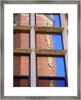 Wittenberg Chapel Reflection Framed Print by Beth Akerman