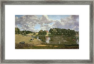 Wivenhoe Park Framed Print by John Constable
