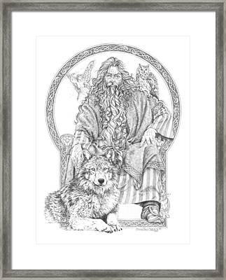 Wizard IIi - The Family Portrait Framed Print