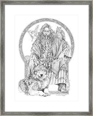 Wizard IIi - The Family Portrait Framed Print by Steven Paul Carlson