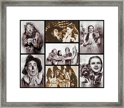 Wizard Of Oz Framed Print by Esoterica Art Agency