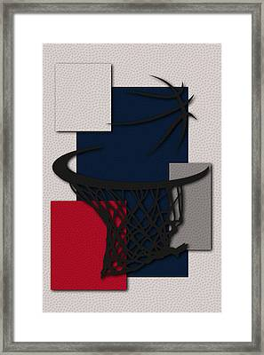 Wizards Hoop Framed Print