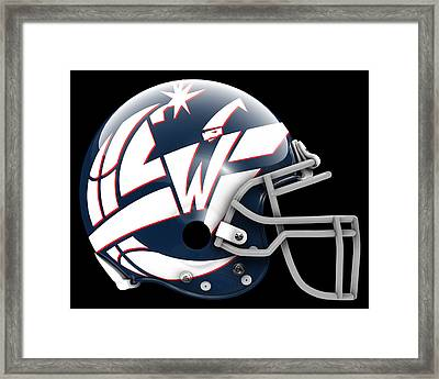 Wizards What If Its Football Framed Print by Joe Hamilton