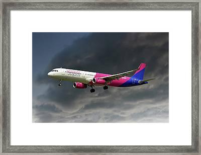 Wizz Air Framed Print