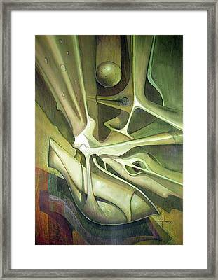 Wl1989dc004 New Dimension Of The Light 26 X 37.6 Framed Print by Alfredo Da Silva