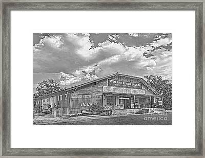 Woerner Warehouse Framed Print