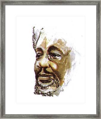 Wole Soyinka Framed Print