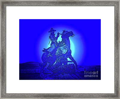 Wolf Attack Framed Print by Al Bourassa