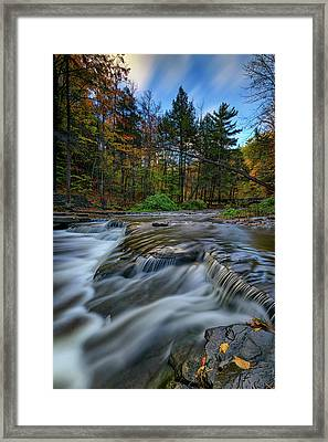 Wolf Creek Autumn Framed Print by Rick Berk