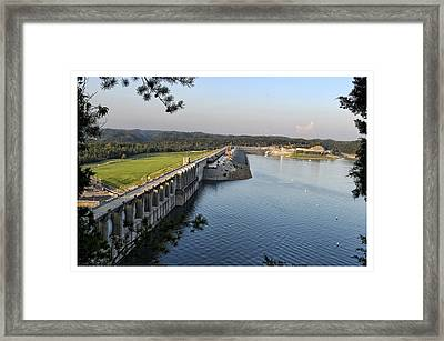 Wolf Creek Dam Framed Print