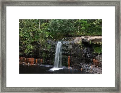 Wolf Creek Falls Framed Print by John Ricker