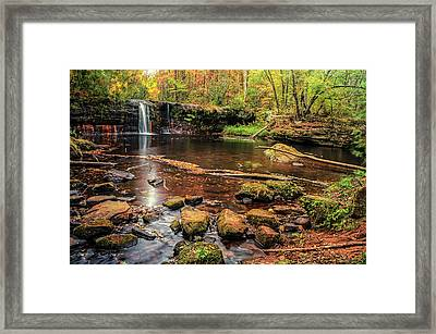 Wolf Creek Falls Framed Print