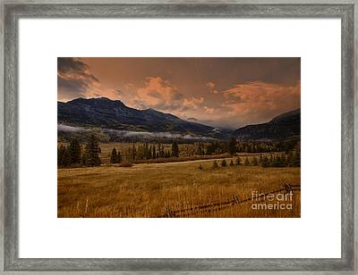 Wolf Creek Pass Framed Print by Timothy Johnson