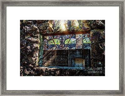 Wolf House Framed Print