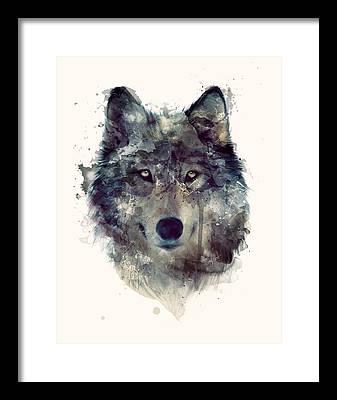 Wolf Framed Prints