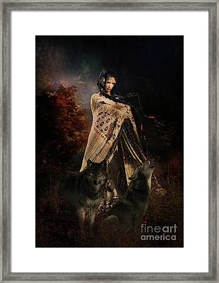 Wolf Song Framed Print
