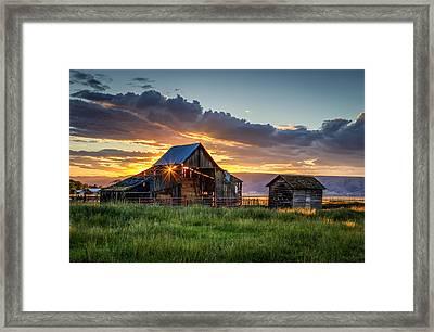 Wolff Barn Framed Print