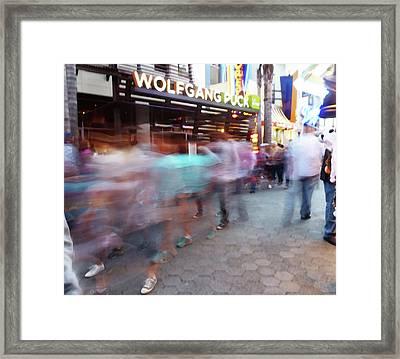 Wolfgang Puck Framed Print by David BERNARD