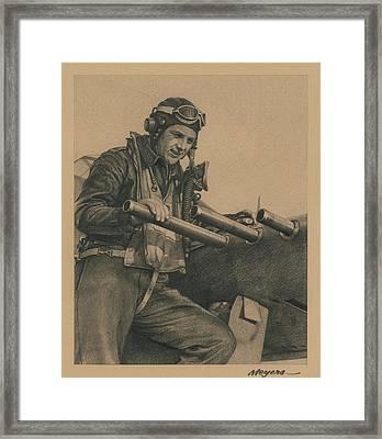 Wolfpack Leader Framed Print