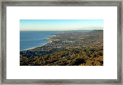 Framed Print featuring the photograph Wollongong by Nicholas Blackwell