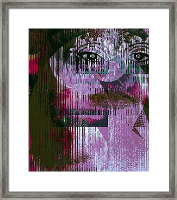 Woman - Art And Theory Framed Print by Fania Simon