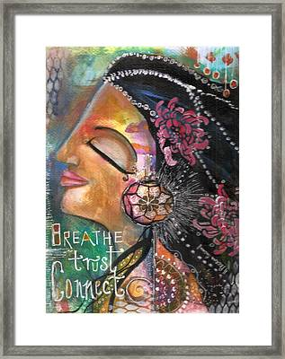 Woman Art Framed Print