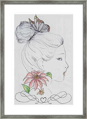 Woman Design - 2016 Framed Print