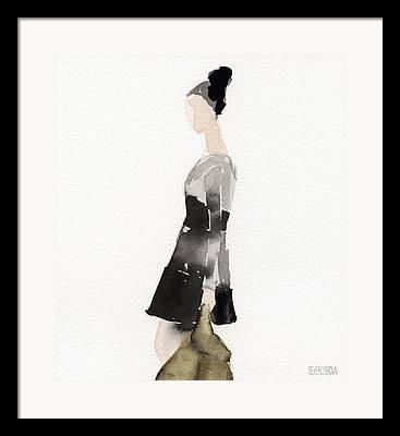 Fashion Designer Abstract Art Framed Prints