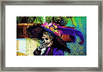 Woman In Play  Framed Print