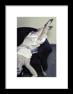 Desparation Framed Prints
