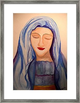 Woman Of Faith Framed Print