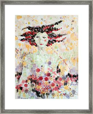 Woman Of Glory Framed Print