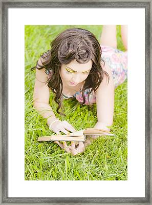 Woman Of Spring Framed Print by Jorgo Photography - Wall Art Gallery