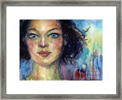Woman  Portrait 2 Framed Print by Svetlana Novikova