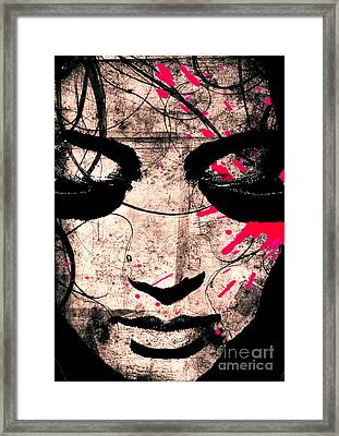 Woman Framed Print by Ramneek Narang