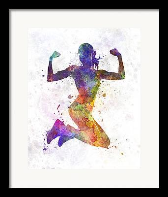 Sportswear Framed Prints