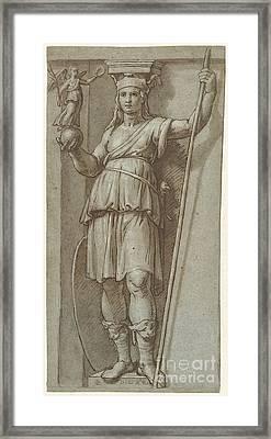 Woman Standing Framed Print