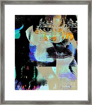 Womanhood Not For Sale Framed Print by Fania Simon