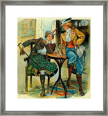 Woman's Club 1899 Framed Print