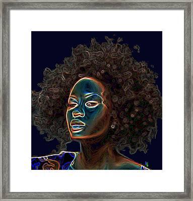 Womans Essence IIi  Framed Print by  Fli Art