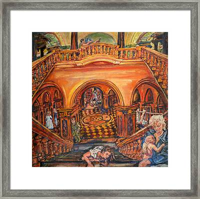 Woman's Place In Society Framed Print