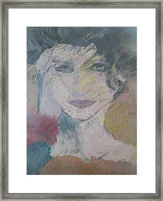 Woman's Portrait - Untitled Framed Print