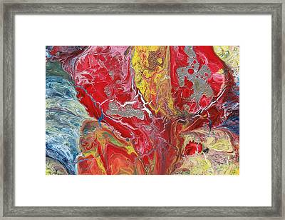 Womb Of Creation Framed Print