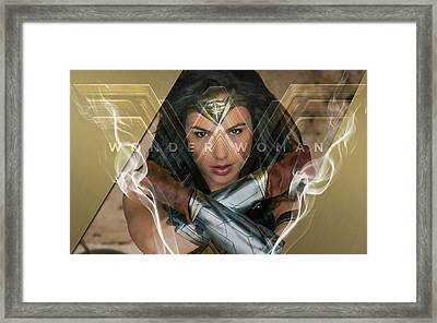 Womder Woman Art Framed Print