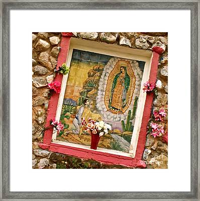 Women Are Worth Worshipping Framed Print by Chuck Taylor