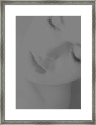 Women Body - Desire Framed Print by Robert Litewka